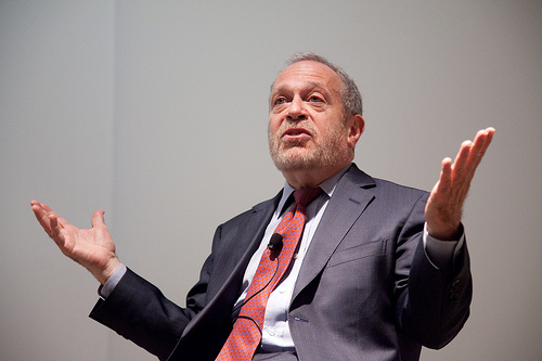 Robert Reich - photo by Harvard Ethics
