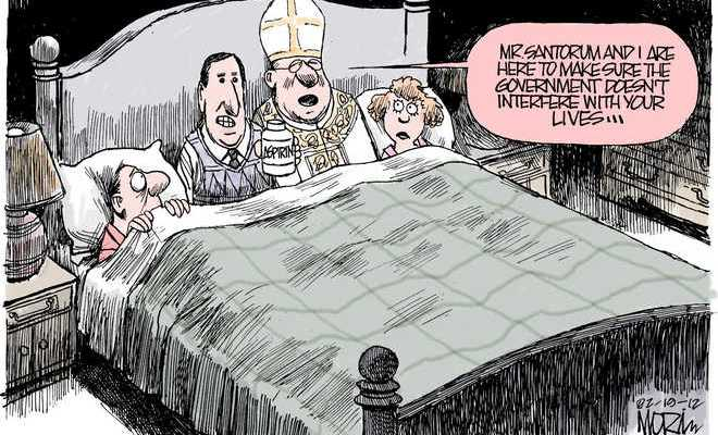 Cartoon by Jim Morin - The Miami Herald