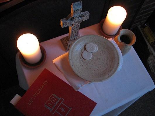 Communion - photo by Alan Creech
