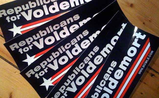 Republicans for Voldemort - photo by Andres Musta