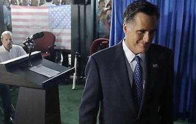 Mitt Romney smirk