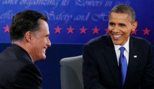 2012 Presidential Debate 3 - photo by Rick Wilking, AP
