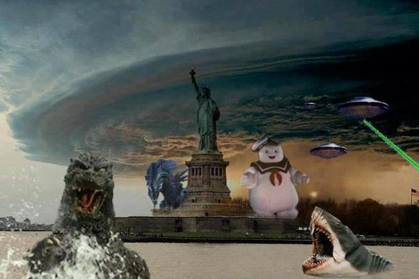Hurrican Sandy - Hey, things could be worse