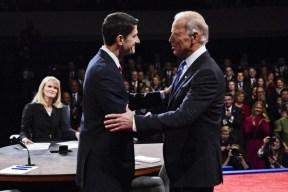 Vice Presidential Debate 2012 - MICHAEL REYNOLDS / EPA