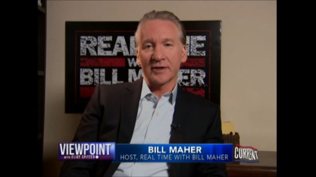 Bill Maher on Viewpoint with Eliot Spitzer - Current TV