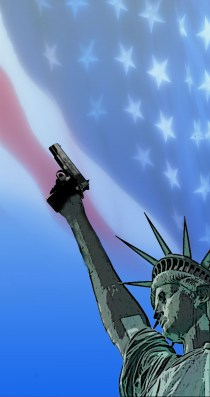Welcome to America - image by Alan Cleaver