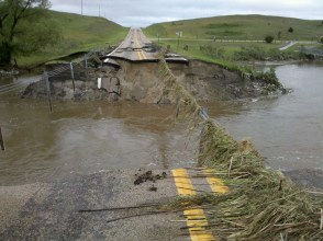 Bridge Washout - photo by Steve White