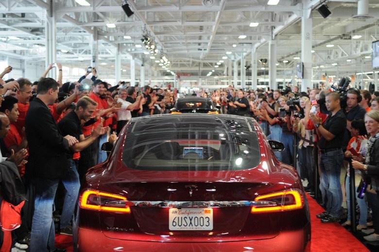 Tesla Model S - photo by Steve Jurvetson