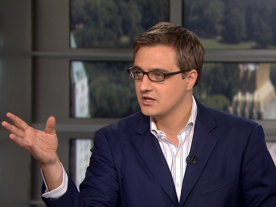 Up with Chris Hayes - photo by MSNBC