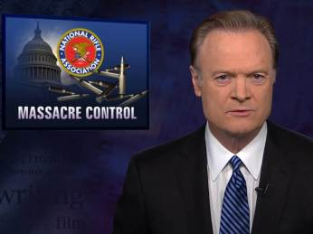 Lawrence O'Donnell - gun control