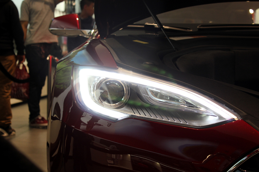 Tesla Model S - photo by Kartikay Sahay