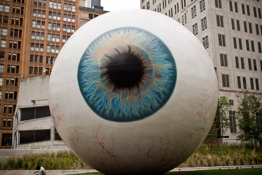 Eyeball - photo by Scott Hadfield