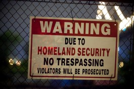 Due to Homeland Security - photo by Thomas Hawk