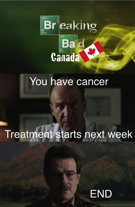 Breaking bad canada meme