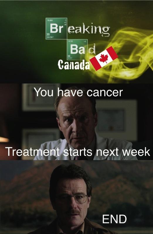 Breaking bad canada meme