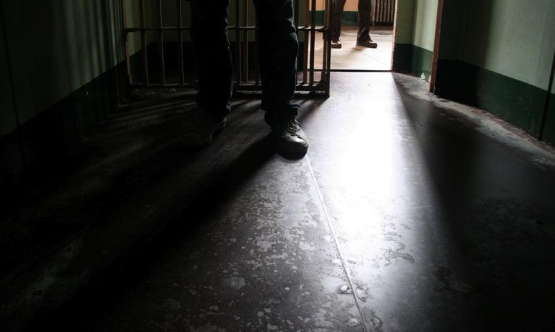 Prison floor sunlight shoes