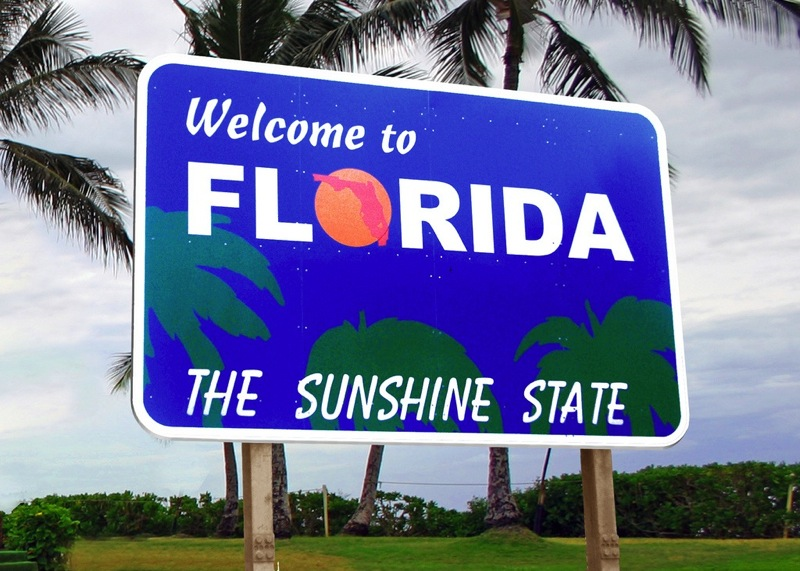 Welcome to florida sunshine state