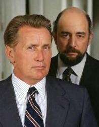 President Bartlet (Martin Sheen), Toby Ziegler (Richard Schiff)