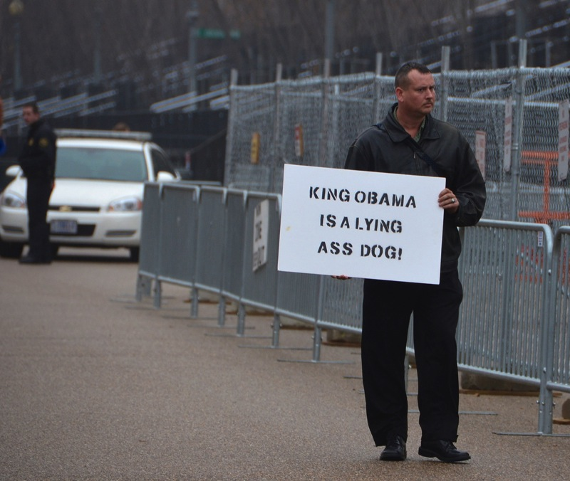 King obama is a lying ass dog