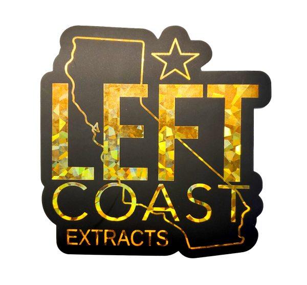 Left Coast Extracts | Left Coast Sticker