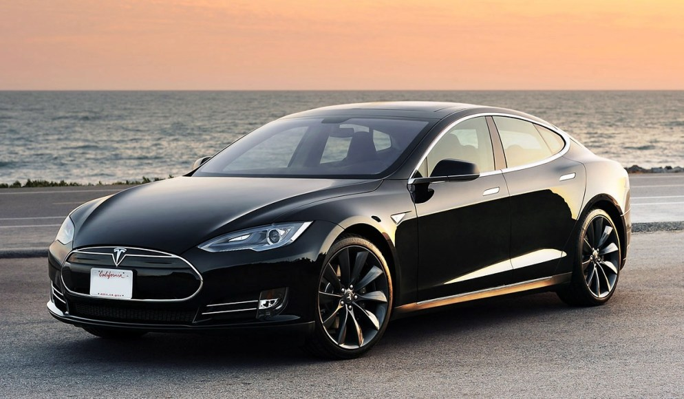 Tesla Model S. 100% electric. 95 MPGe. 208 miles on battery only (if you've been keeping score, that is dramatically higher than the electric range of other 100% electric vehicles).