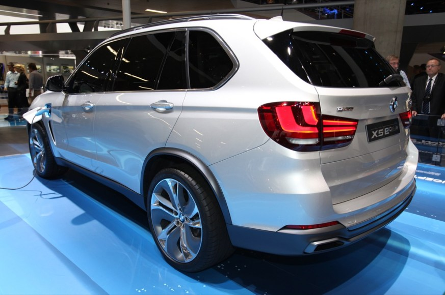 BMW X5. A plug-in hybrid version of the X5.