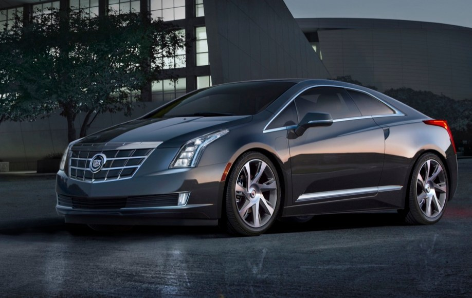 Cadillac ELR. Plug-in hybrid. 82 MPGe. Electric range: 37 miles.