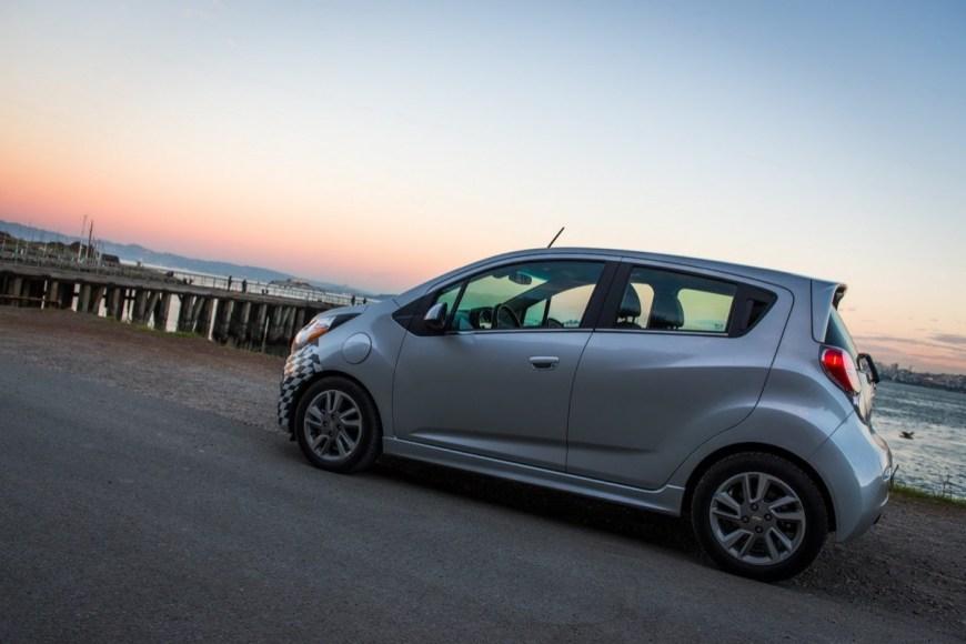 Chevrolet Spark EV. 100% electric. 119 MPGe. 82 mile range.