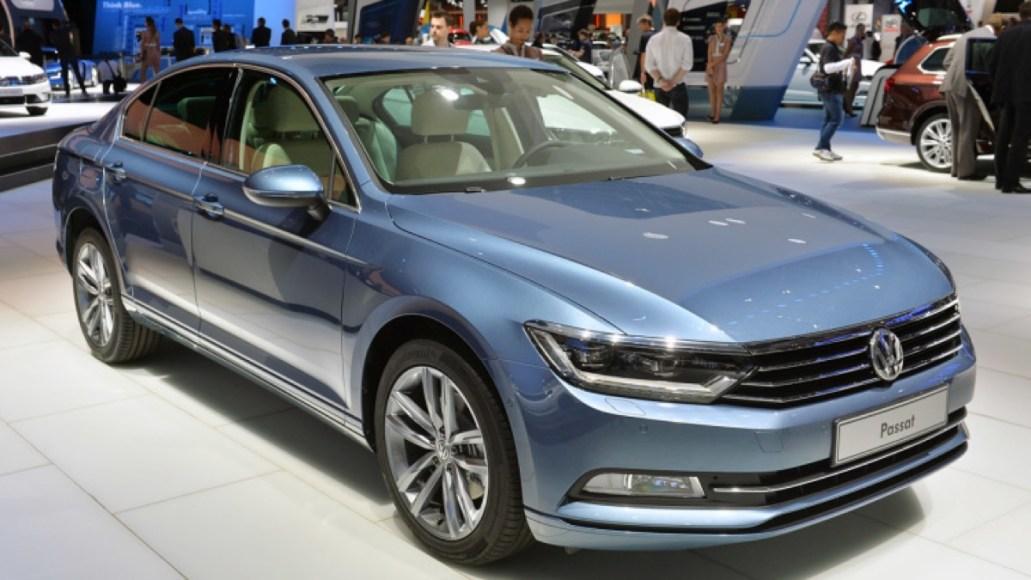 VW Passat. Plug-in hybrid. 31 mile electric range