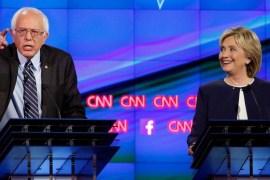 Bernie and Hillary