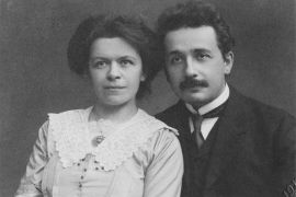 Albert and Mileva Einstein, 1912.