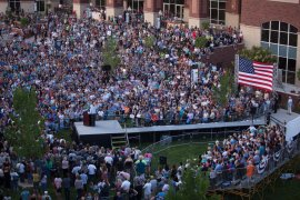 Bernie Sanders in Reno, Nevada