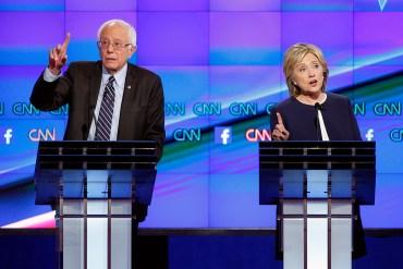 Sanders Clinton debate