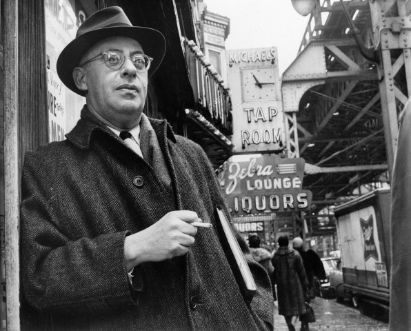 Saul Alinsky on Chicago's South Side where he organized the Woodlawn area to battle slum conditions.