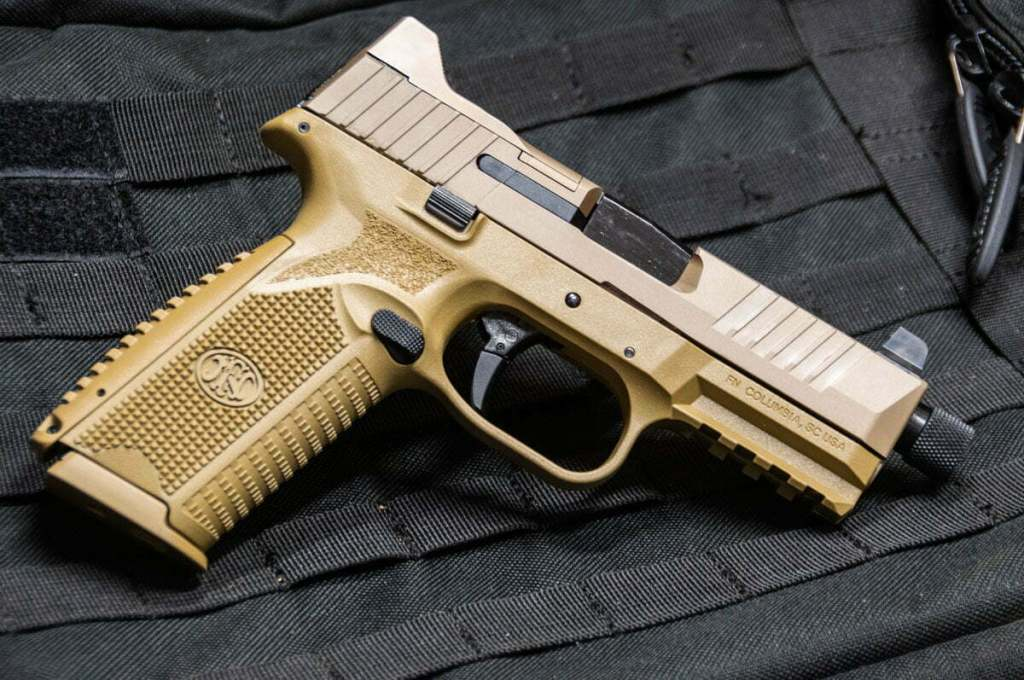 FN 509 Tactical left handed friendly pistol