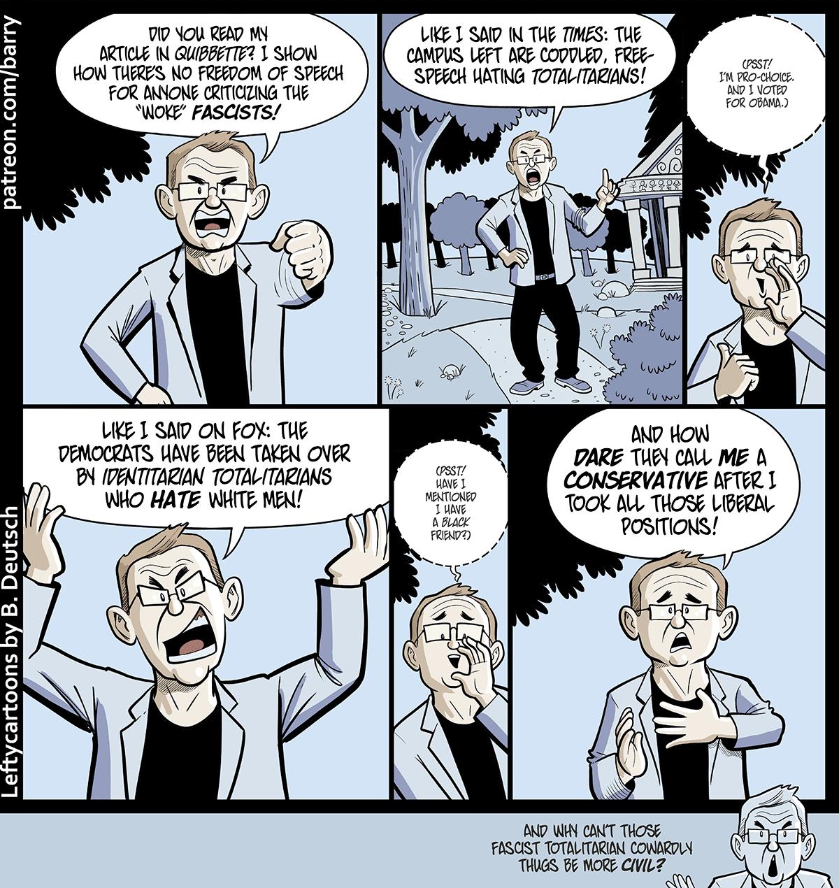Lefty Cartoons