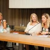 Il direttore di Legacoop Romagna, Monica Fantini, interviene alla presentazione del progetto