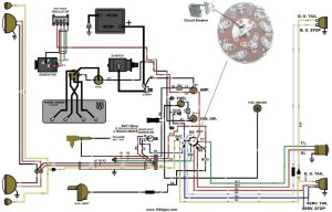 G503 WWII Willys and Ford MidLate 1944 Jeep Wiring Diagram