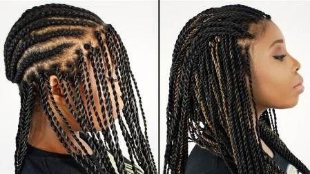 Image result for crochet braids without braiding