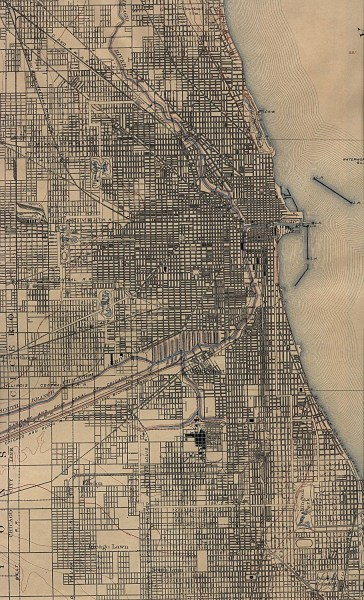 Illinois Maps   Perry Casta    eda Map Collection   UT Library Online Historical City Maps