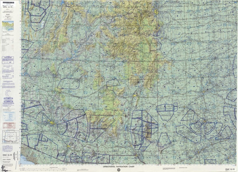 Operational Navigation Charts   Perry Casta    eda Map Collection   UT         ONC G 19