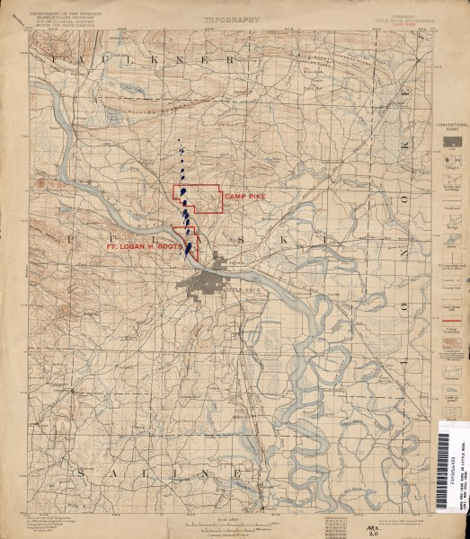 Arkansas Historical Topographic Maps   Perry Casta    eda Map     Arkansas Historical Topographic Maps