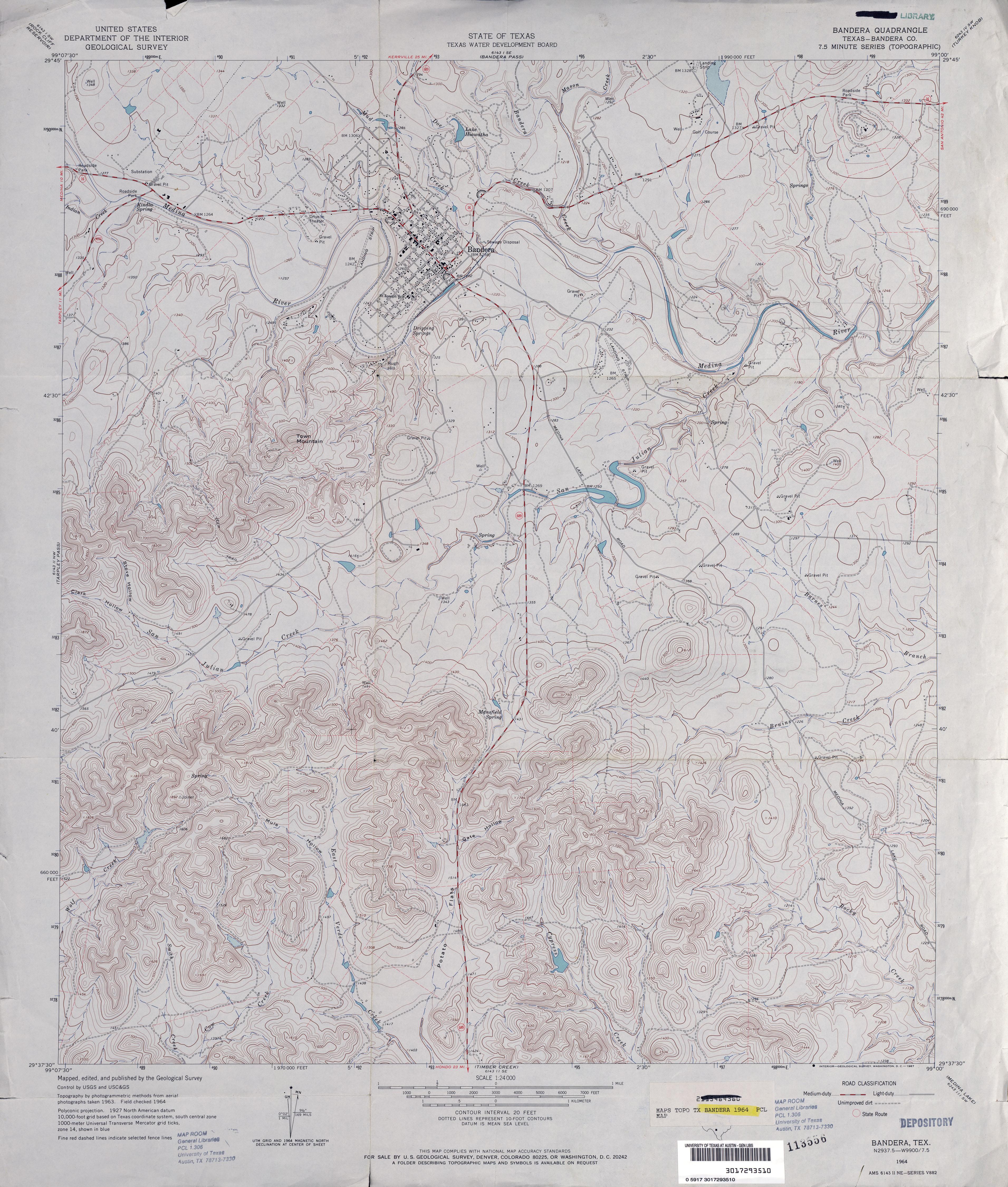 Texas Topographic Maps