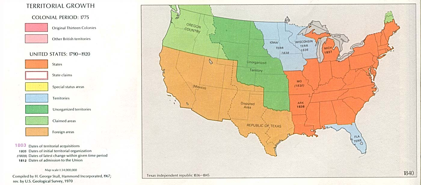 United States Historical Maps Perry Castaneda Map Collection Ut Library Online
