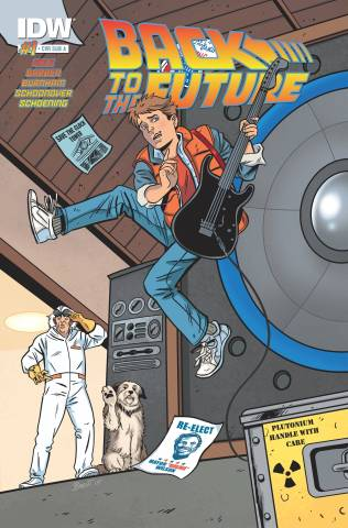 back to the future cover b