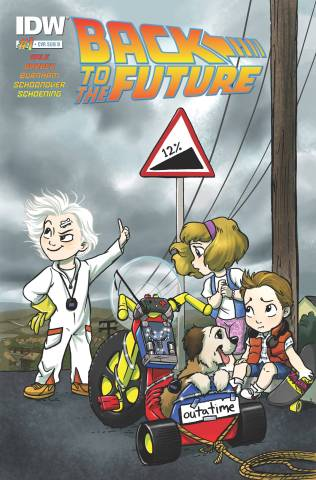 back to the future cover c