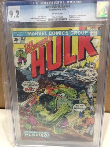 hulk 180 cgc 9.2