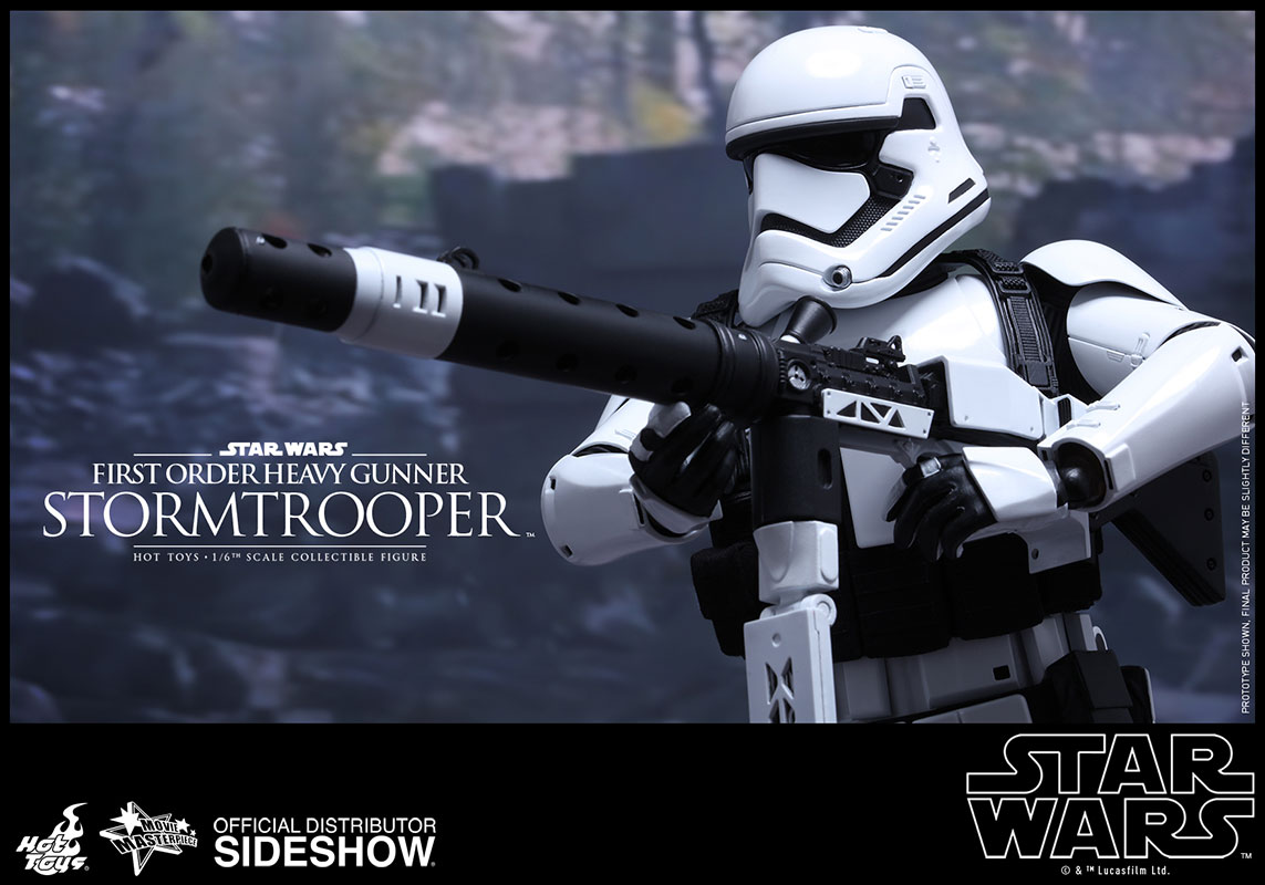 "PROTOTYPE Snowtrooper Stormtrooper blaster rifle Star Wars 6/"" first order"