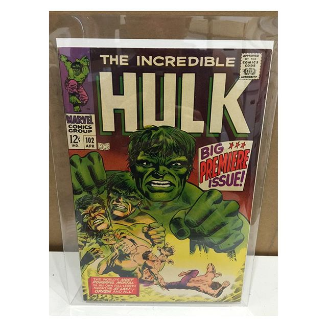 Newest arrival #hulk #102