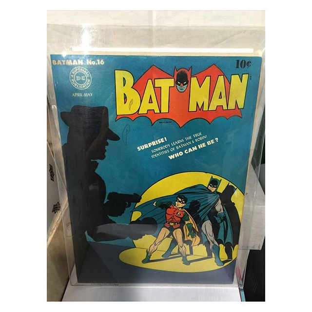 Golden age treasure!  #batman #16 1st Alfred!  #joker appearance